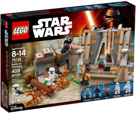 LEGO 75139 BATTLE ON TAKODANA STAR WARS