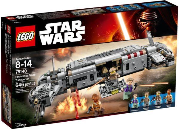 LEGO 75140 RESISTANCE TROOP TRANSPOR STAR WARS