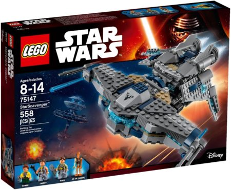 LEGO 75147 STAR SCAVENGER STAR WARS