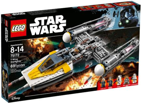 LEGO 75172 Y-WING STARFIGHTER STAR WARS (Rogue One)