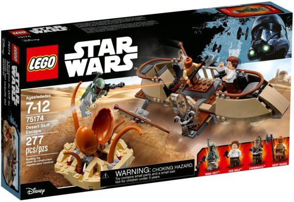 LEGO 75174 DESERT SKIFF ESCAPE STAR WARS