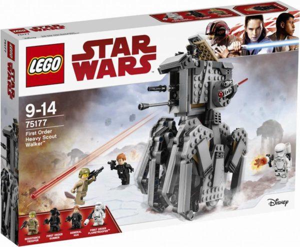 LEGO 75177 FIRST ORDER HEAVY SCOUT WALKER STAR WARS