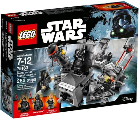 LEGO 75183 DARTH VADAR TRANSFORMATION STAR WARS