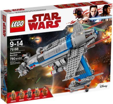 LEGO 75188 RESISTANCE BOMBER STAR WARS