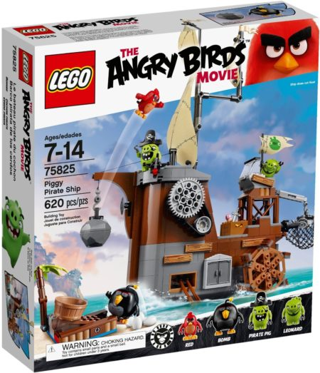 LEGO 75825 PIGGY PIRATE SHIP ANGRY BIRDS