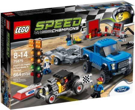 LEGO 75875 FORD F-150 RAPTOR & FORD SPEED CHAMPIONS