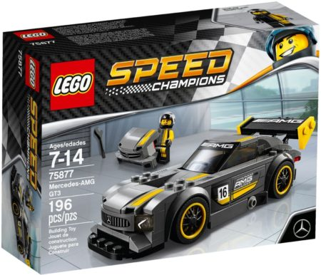 LEGO 75877 MERCEDES AMG GT3 SPEED CHAMPIONS