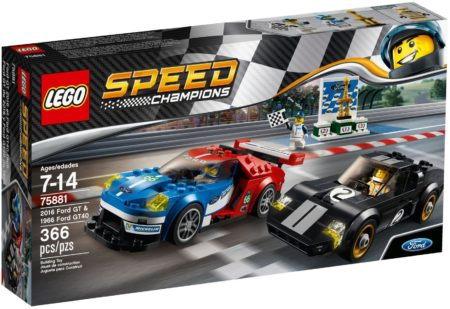 LEGO 75881 2016 FORD GT & 1966 FORD GT40 SPEED CHAMPIONS