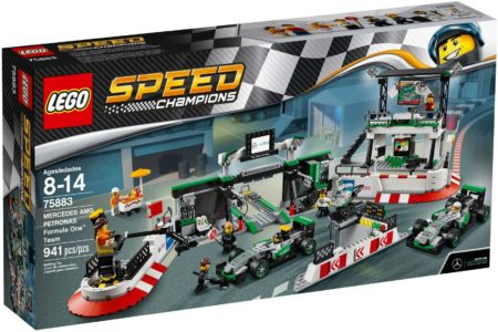 LEGO 75883 MERCEDES AMG PETRONAS FORMULAR ONE TEAM SPEED CHAMPIONS