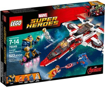 LEGO 76049 AVENJET SPACE MISSION MARVEL SUPER HEROES
