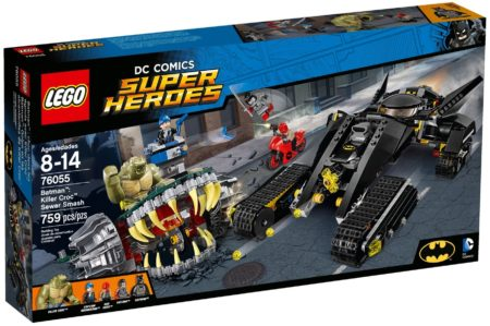 LEGO 76055 BATMAN KILLER CROC SEWER SMASH DC COMICS SUPER HEROES
