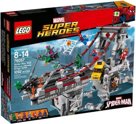 LEGO 76057 SPIDERMAN WEB WARRIORS ULTIMATE BRIDGE BATTLE MARVEL SUPER HEROES
