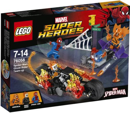 LEGO 76058 SPIDERMAN GHOST RIDER TEAM-UP MARVEL SUPER HEROES