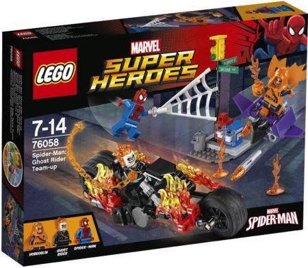 LEGO 76058 SPIDERMAN GHOST RIDER TEAM-UP MARVEL SUPER HEROES