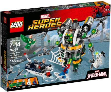 LEGO 76059 SPIDERMAN DOC OCK'S TENTACLE TRAP MARVEL SUPER HEROES