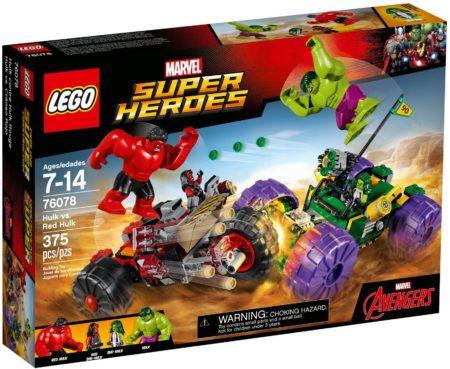 LEGO 76078 HULK VS RED HULK MARVEL SUPER HEROES