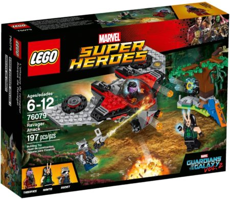 LEGO 76079 RAVAGER ATTACK MARVEL SUPER HEROES