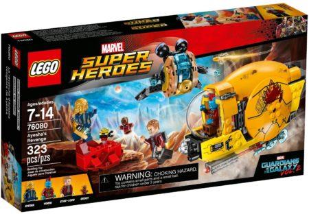 LEGO 76080 AYESHA'S REVENGE MARVEL SUPER HEROES