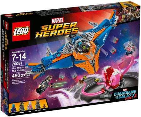 LEGO 76081 THE MILANO VS THE ABILISK MARVEL SUPER HEROES