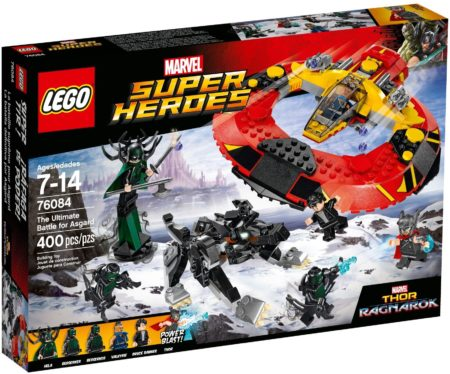 LEGO 76084 THE ULTIMATE BATTLE FOR ASGARD MARVEL SUPER HEROES