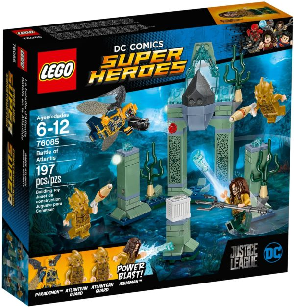 LEGO 76085 BATTLE OF ATLANTIS DC COMICS SUPER HEROES