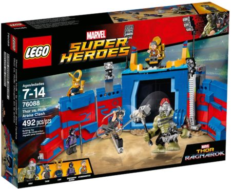 LEGO 76088 THOR VS HULK ARENA CLASH MARVEL SUPER HEROES