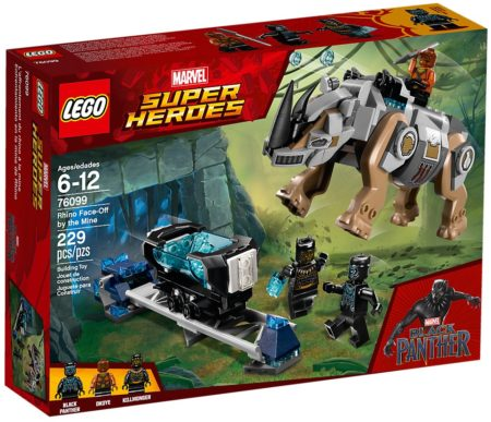 LEGO 76099 BLACK PANTHER FACE OFF SUPER HEROES