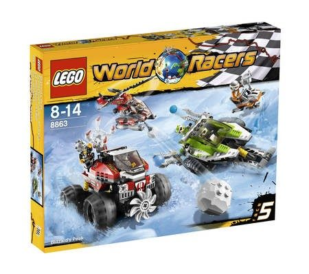 LEGO 8863 BLIZZARDS PEAK RACERS