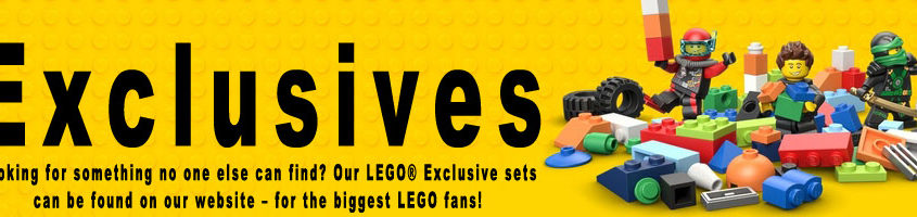 Buy Lego Exclusive hard to find LEGO